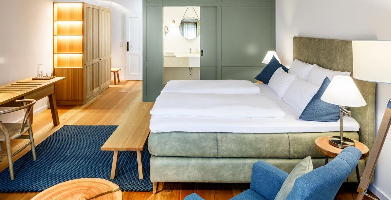 Doppelzimmer im Hotel zum Glockenturm im Traisental